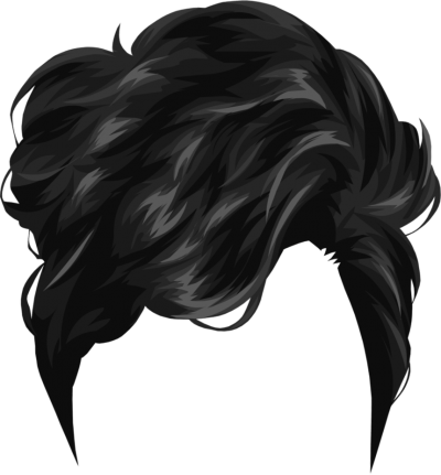 Wavy hair men clipart graphic freeuse stock Download HAIRSTYLES Free PNG transparent image and clipart graphic freeuse stock