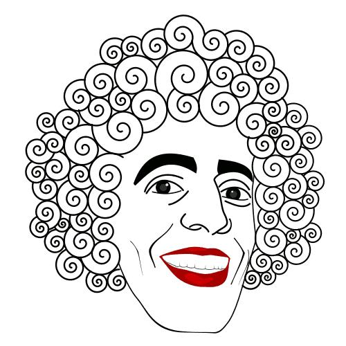 Wavy hair men clipart vector library download Free Curly Man Cliparts, Download Free Clip Art, Free Clip ... vector library download