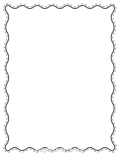 Wavy line border clipart free royalty free download Pin by Muse Printables on Page Borders and Border Clip Art ... royalty free download