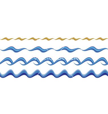 Wavy line border clipart free vector freeuse Free Wave Lines Cliparts, Download Free Clip Art, Free Clip ... vector freeuse