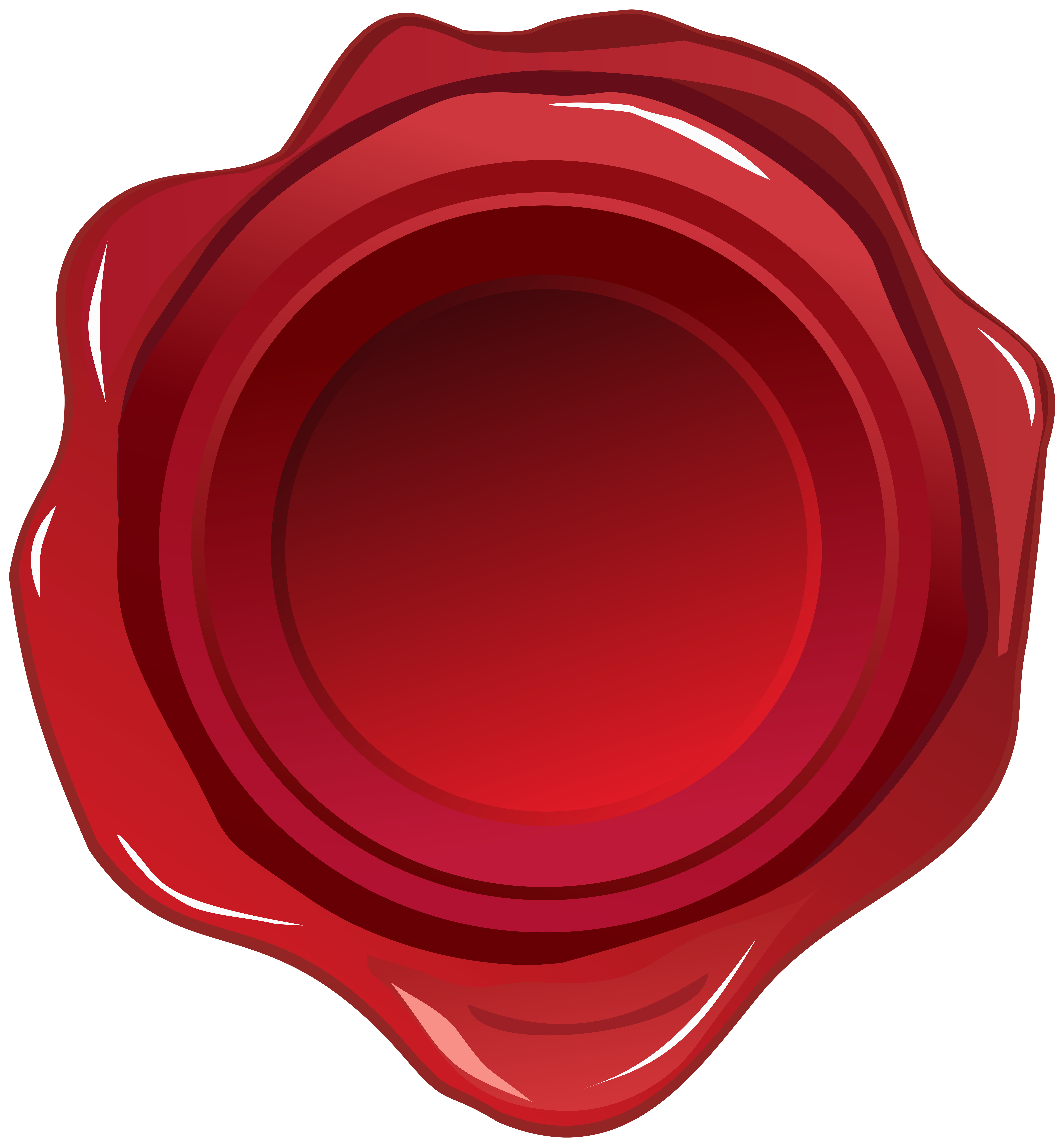 Wax seal clipart banner library stock Red Wax Seal PNG Clip Art Image | Gallery Yopriceville ... banner library stock