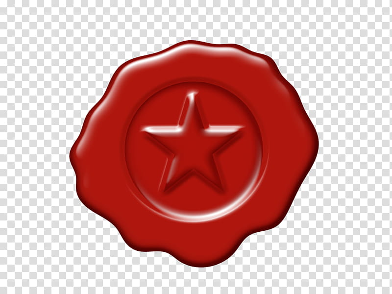 Wax seal clipart clip transparent library Wax Seal, round red star decor transparent background PNG ... clip transparent library