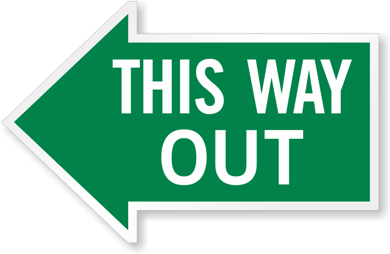 Way out clipart svg transparent Out For Lunch Signage | Free download best Out For Lunch ... svg transparent