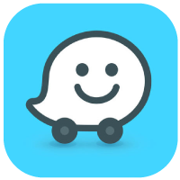 Waze logo clipart clipart freeuse Download Waze Traffic and Carpool Apps for iPhone and Android clipart freeuse