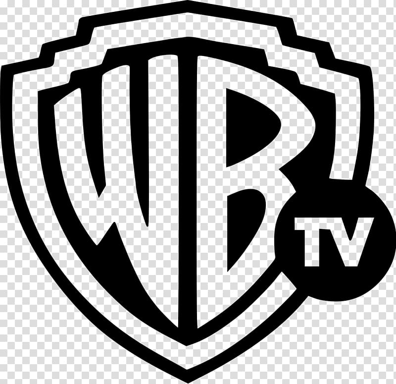 Wb clipart clipart black and white library Warner TV Television channel WB Channel Television show, the ... clipart black and white library