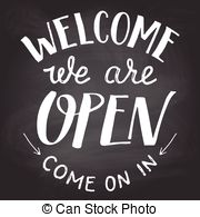 We are open sign clipart picture royalty free library We are open sign Vectors, Vector Clipart & EPS images   Can ... picture royalty free library
