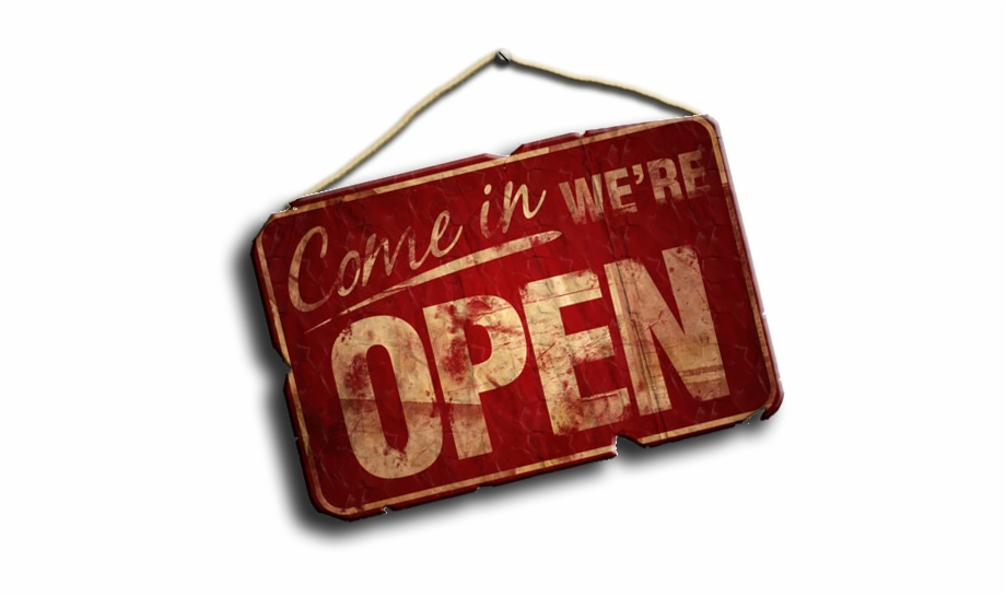 We are open sign clipart image download open #sign - Open Sign Free PNG Images & Clipart Download ... image download