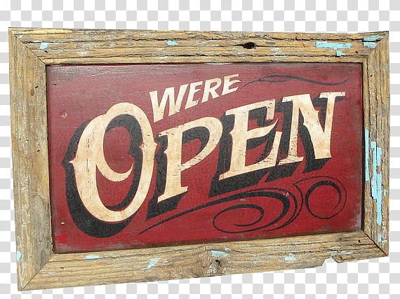 We are open sign clipart svg transparent Vintage Signs, we\'re open signage transparent background PNG ... svg transparent