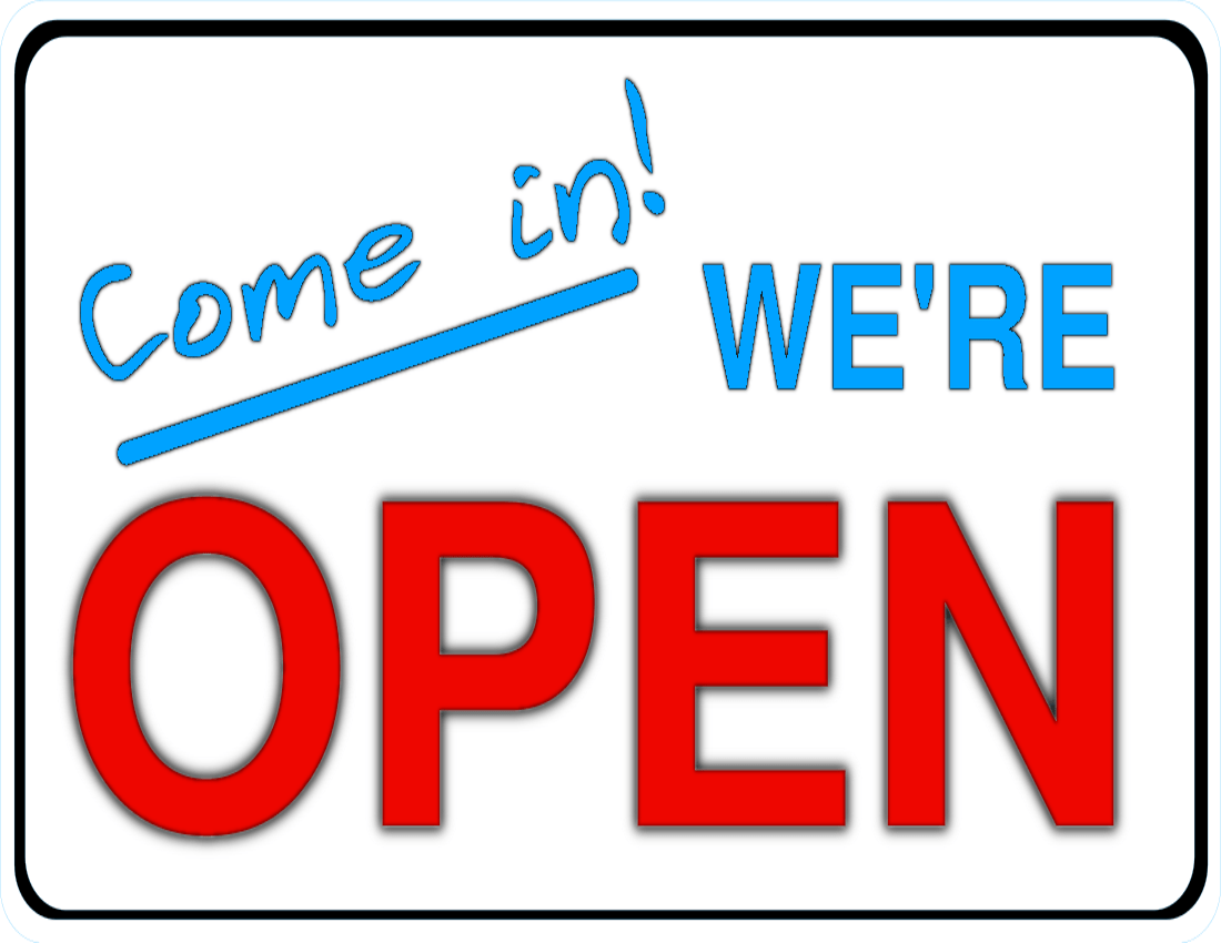 We are open sign clipart vector library stock Clipart open sign 5 » Clipart Portal vector library stock