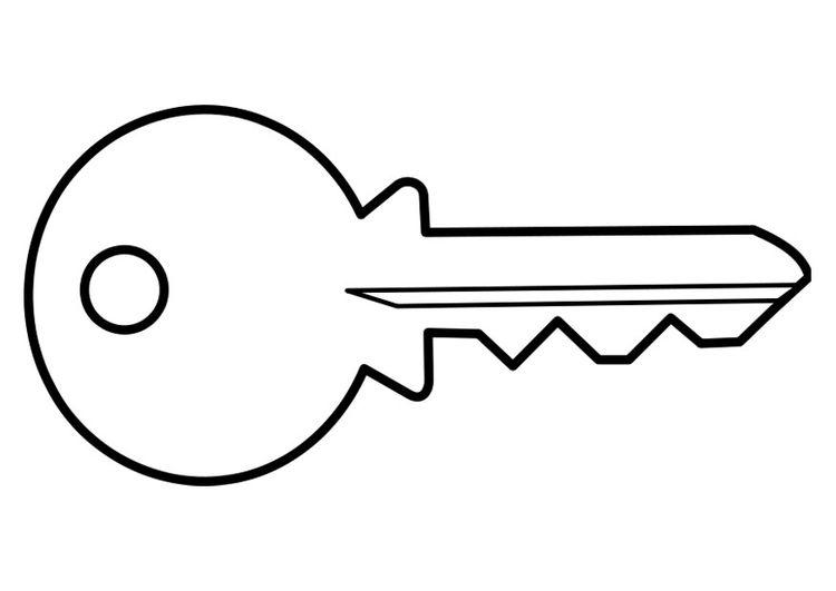 We cut keys clipart png transparent Coloring page key   primary lessons   Coloring pages ... png transparent