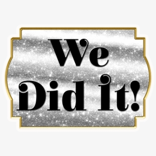 We did it clipart clip free stock We Did It - Box Top Cut Out #2260915 - Free Cliparts on ... clip free stock