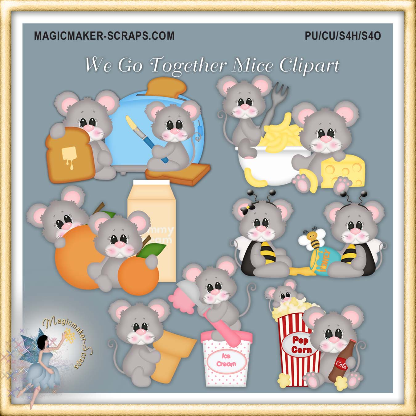 We go together clipart clip art free download We Go Together Mice Clipart - $1.00 : Magicmaker-Scraps, shoppe clip art free download