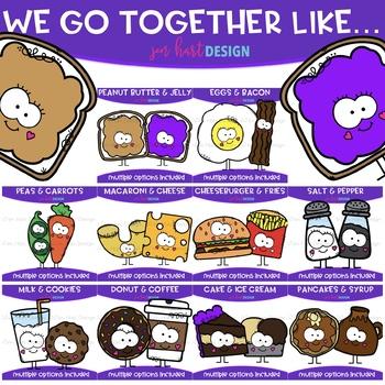 We go together clipart transparent stock We Go Together Clipart- Growing Bundle {jen hart Clip Art ... transparent stock