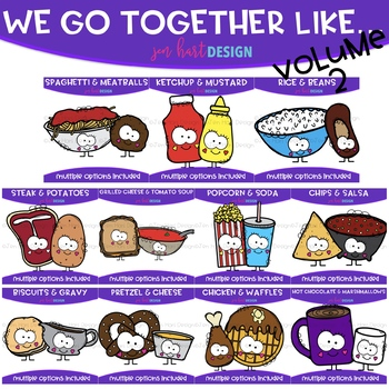 We go together clipart png royalty free download We Go Together Clipart Volume 2- Growing Bundle {jen hart Clip Art} png royalty free download