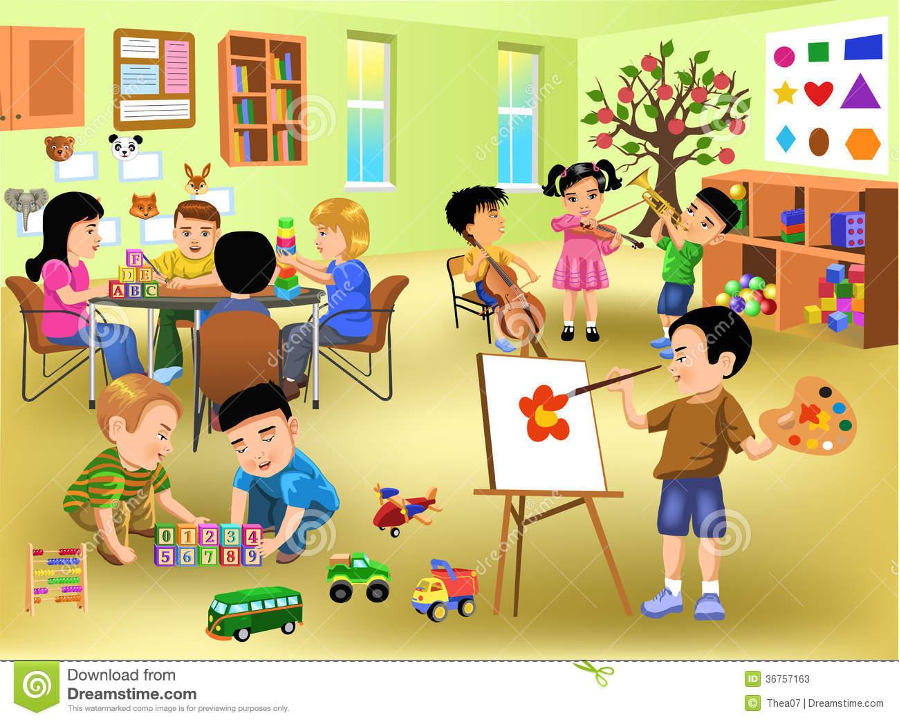 Fun classroom clipart banner freeuse 20+ Classroom Clipart | ClipartLook banner freeuse