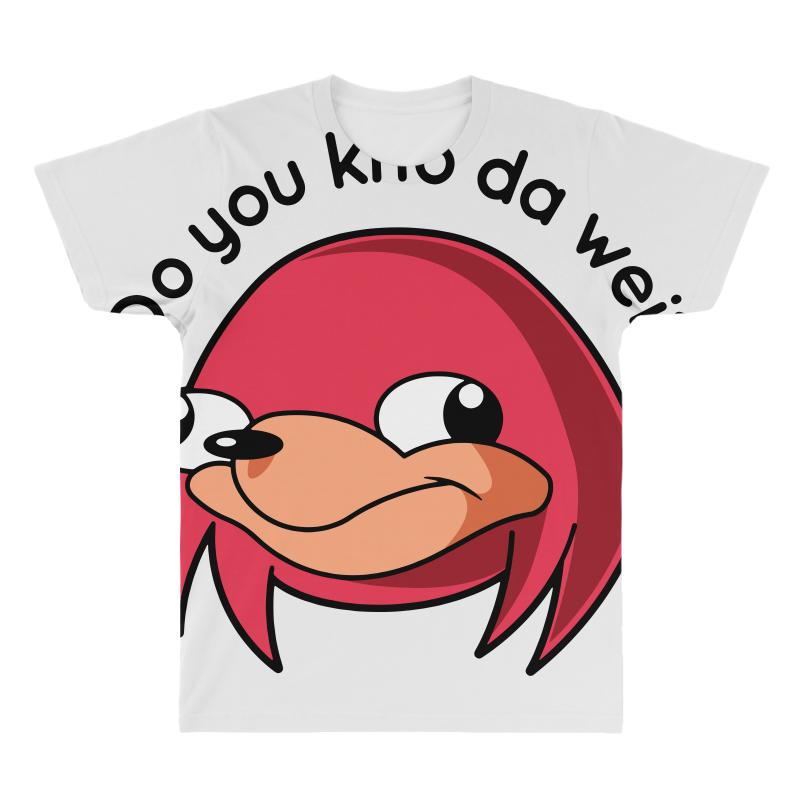 We know the way clipart jpg library library Ugandan Knuckles Do You Know The Way All Over Men\'s T-shirt. By Artistshot jpg library library