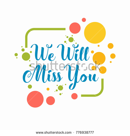 I will miss you clipart banner black and white download We will miss you clipart 8 » Clipart Station banner black and white download