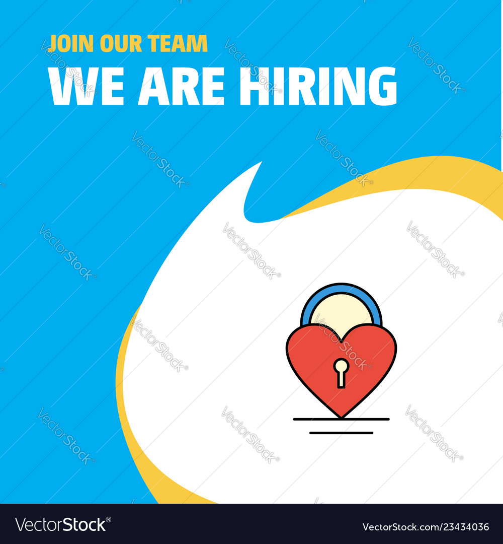 We love our team clipart clipart freeuse stock Join our team busienss company heart lock we are vector image clipart freeuse stock