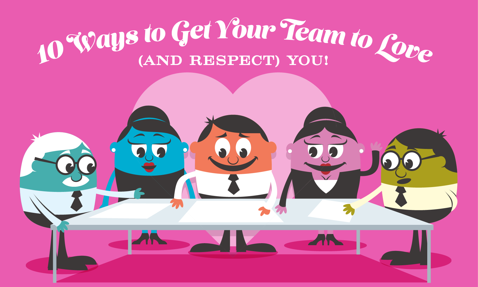 We love our team clipart clipart black and white stock Earn your Employees Affection This Valentine\'s Day - When I Work clipart black and white stock