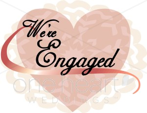 We re engaged clipart clip art library library Lacy We\'re Engaged Heart | Heart Scribbles clip art library library