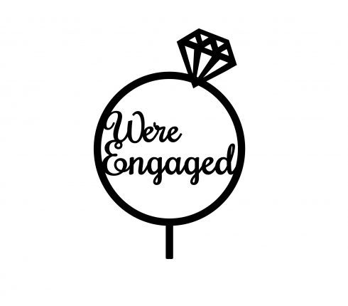 We re engaged clipart clip freeuse We\'re Engaged clip freeuse