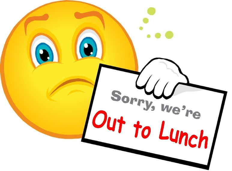 We re sorry clipart image freeuse stock Out To Lunch Clipart & Look At Clip Art Images - ClipartLook image freeuse stock