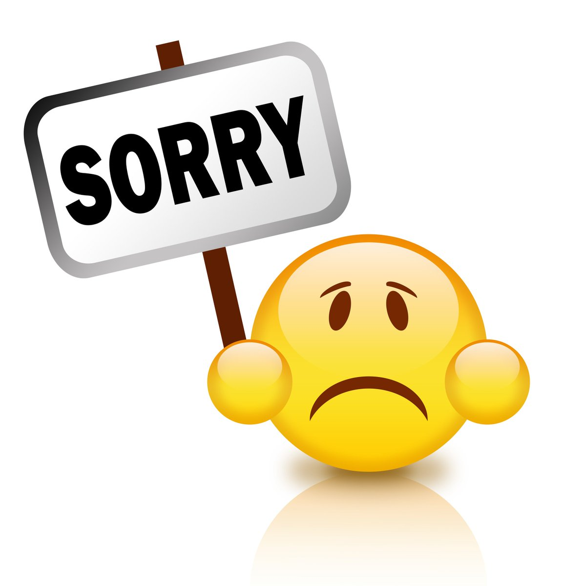 We re sorry clipart png free library Iowa DOT on Twitter: \