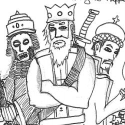 We three kings black & white clipart clip art download We Three Kings Archives | Rowan, Rook and Decard clip art download