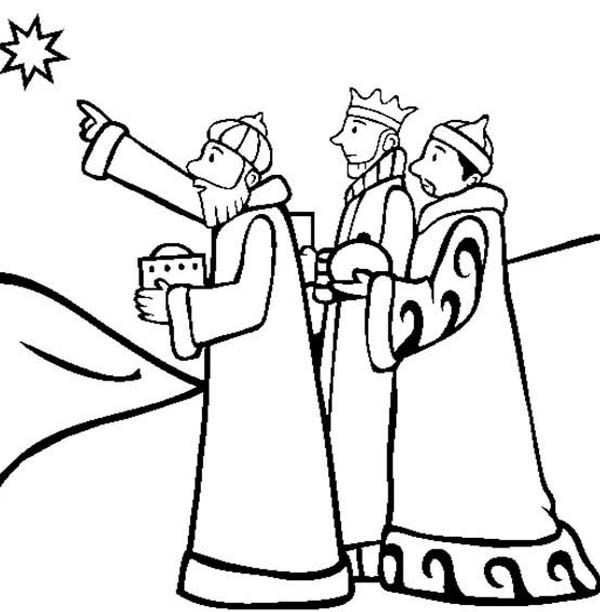 We three kings black & white clipart clip art royalty free stock Three Kings Drawing | Free download best Three Kings Drawing ... clip art royalty free stock