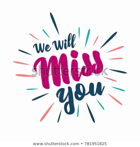 Nurse miss you clipart free free download Farewell Party We Will Miss You Stock Vector Royalty Free ... free download