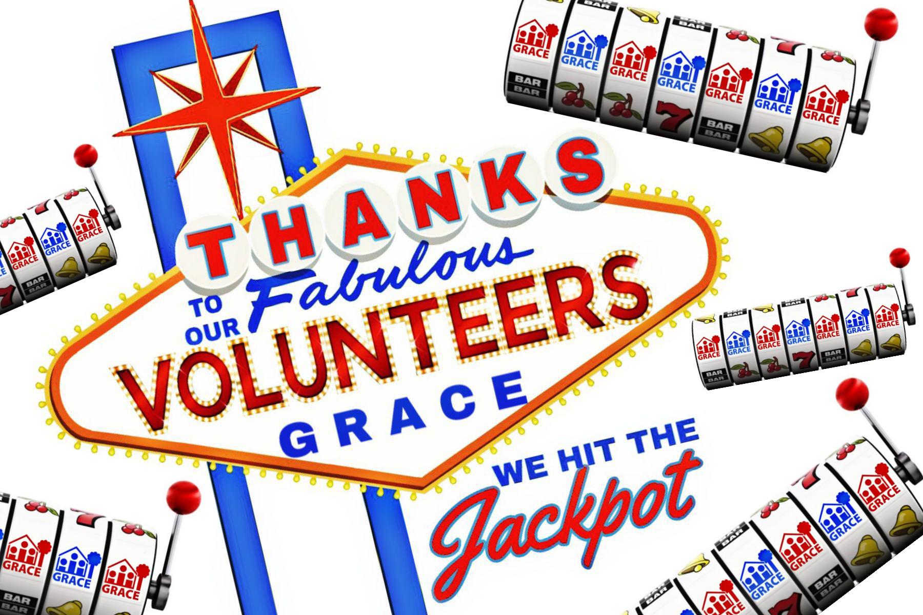 We won the jackpot clipart picture transparent 2019 GRACE Volunteer Appreciation Luncheon — We Hit the ... picture transparent