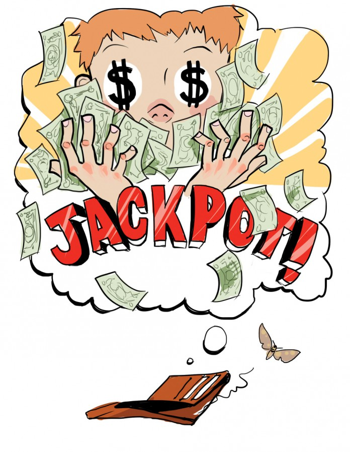We won the jackpot clipart jpg stock Hope is the Real Lottery Jackpot   The Bottom Line jpg stock