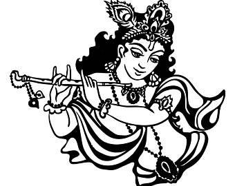 Little krishna clipart png transparent download Image result for shri krishna clipart | Art in 2019 | Lord ... png transparent download