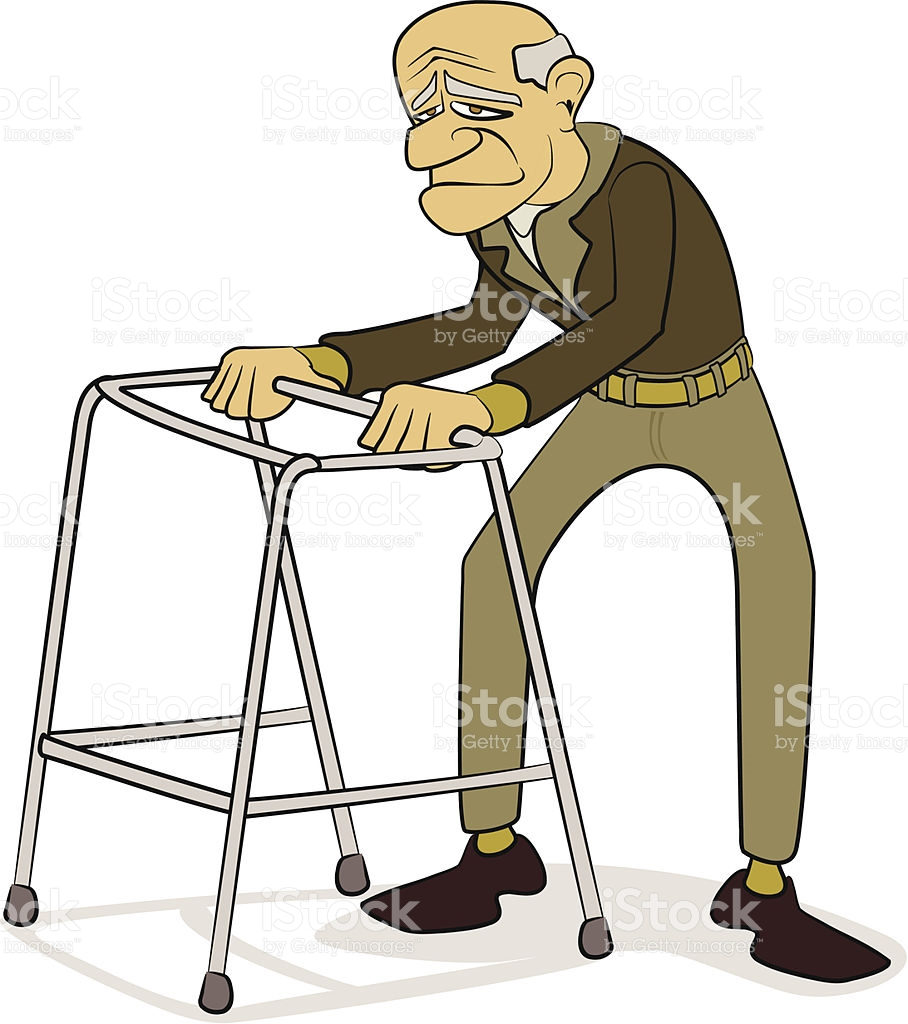 Weak old man clipart graphic freeuse library Weak Man Cartoon Group with 81+ items graphic freeuse library