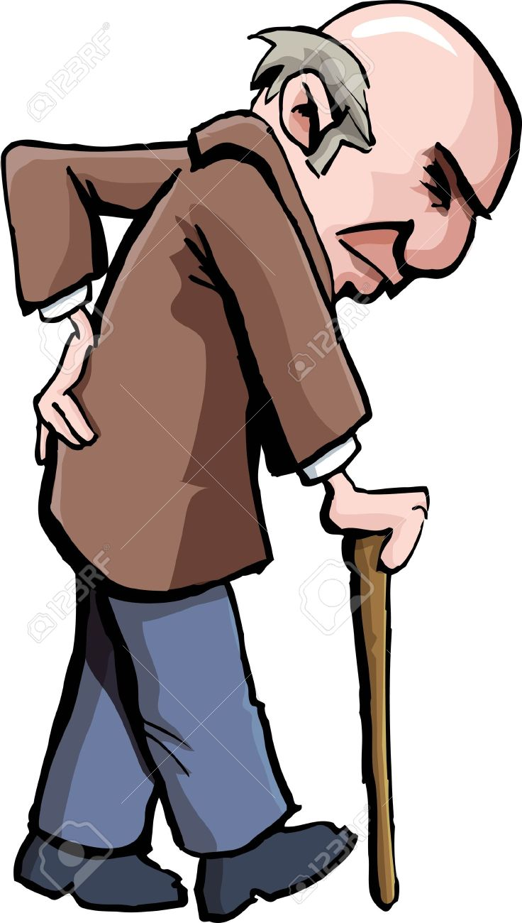 Weak old man clipart banner free library Collection of 14 free Cane clipart elderly patient bill ... banner free library