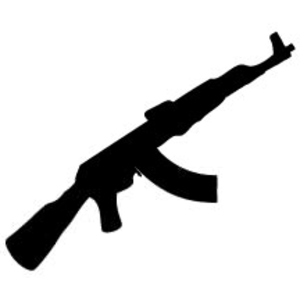 Wepon clipart clipart transparent stock Army Weapons Clipart | Free Images at Clker.com - vector ... clipart transparent stock