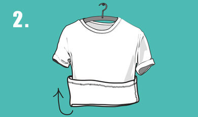 Wear clothes inside out clipart clip freeuse How to Look After Your Graphic T-shirt - No Nonsense Guide ... clip freeuse