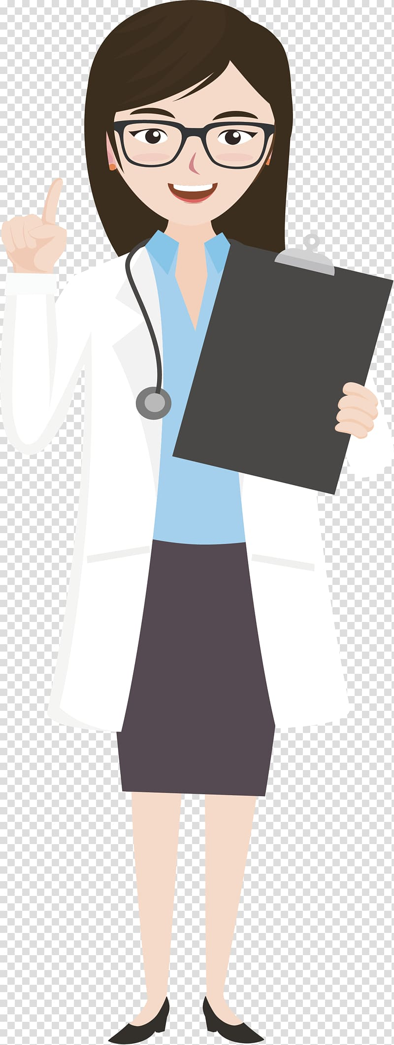 Wear glasses clipart clip Woman doctor illustration, Glasses Physician Woman, A woman ... clip
