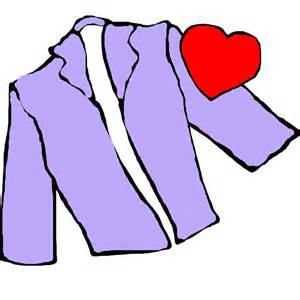 Wear your heart on your sleeve clipart