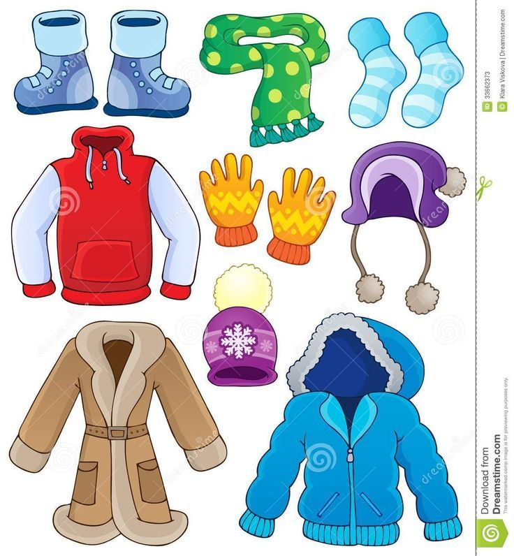 Wearing warm clothes clipart picture free download Image result for pictures of dress we wear in winter ... picture free download