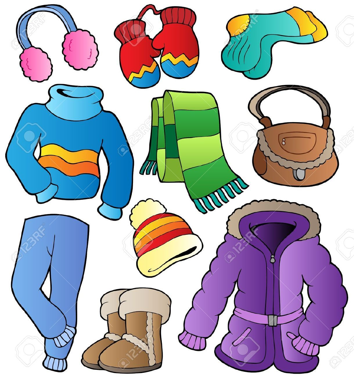 Wearing warm clothes clipart transparent library children in winter clothes coloring pages - Hľadať Googlom ... transparent library