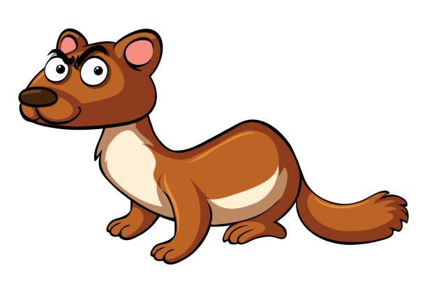 Weasel cartoon clipart image transparent library Weasel Clipart | Free download best Weasel Clipart on ... image transparent library
