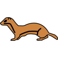 Wisile clipart graphic library stock 28+ Weasel Clipart | ClipartLook graphic library stock