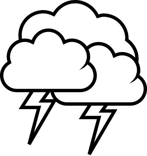Weather cancellation alert clipart black and wlhite png library library Free Severe Weather Cliparts, Download Free Clip Art, Free ... png library library