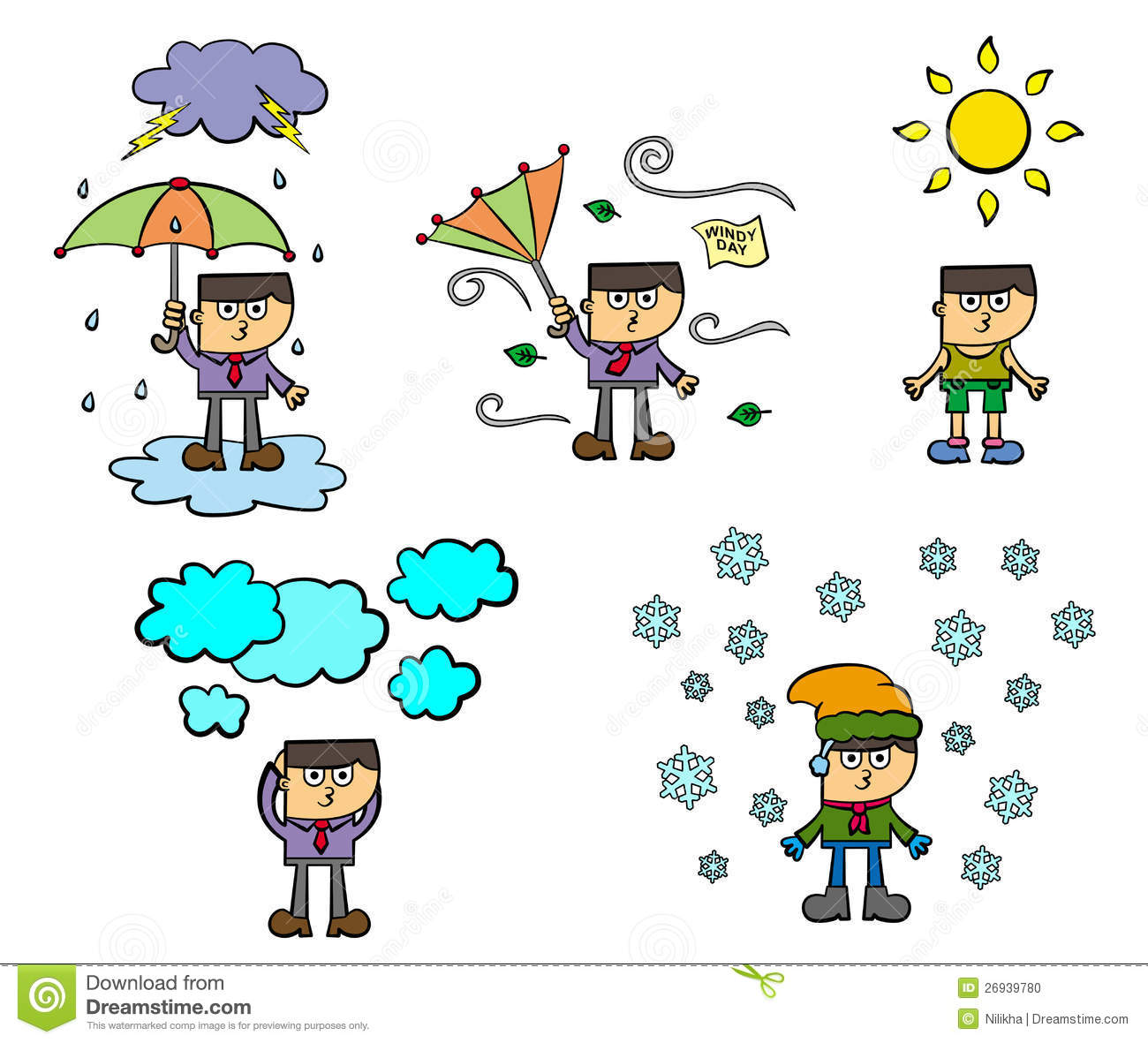 Weather conditions clipart clip black and white library Weather conditions | Clipart Panda - Free Clipart Images clip black and white library