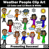 Weather helper clipart clipart royalty free Meteorologist Clipart Worksheets & Teaching Resources | TpT clipart royalty free