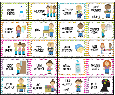 Weather helper job clipart banner freeuse library Free Preschool Job Chart Pictures | water patrol (2 ... banner freeuse library