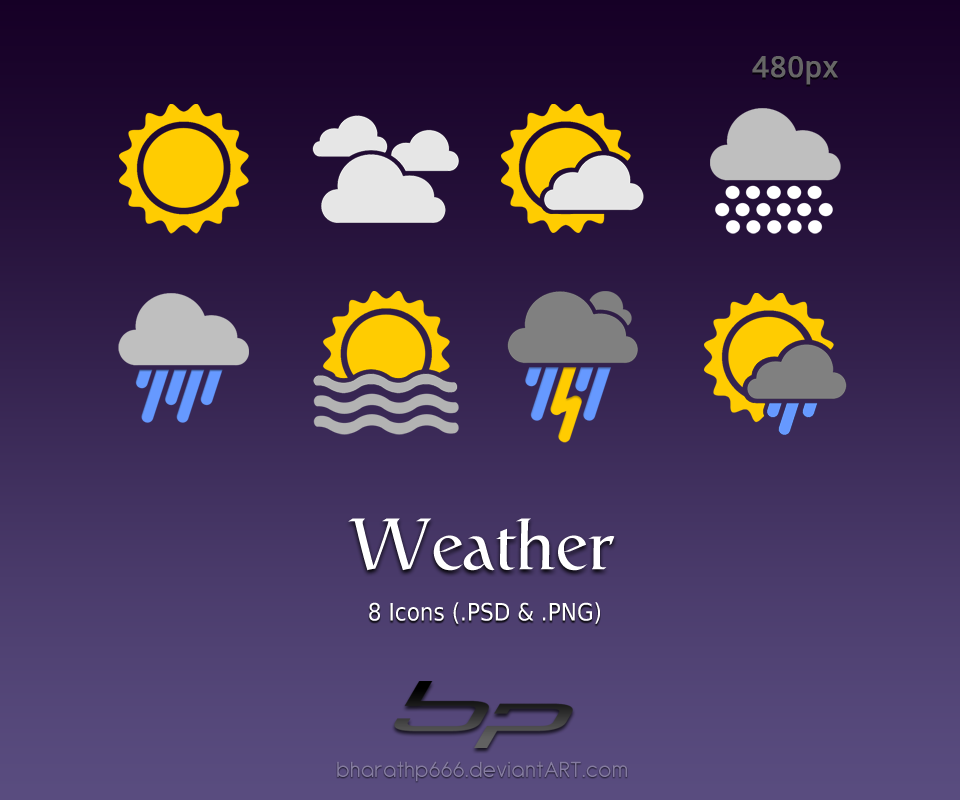 Weather icon pack clipart graphic library Android: Weather Icons by bharathp666 on DeviantArt graphic library