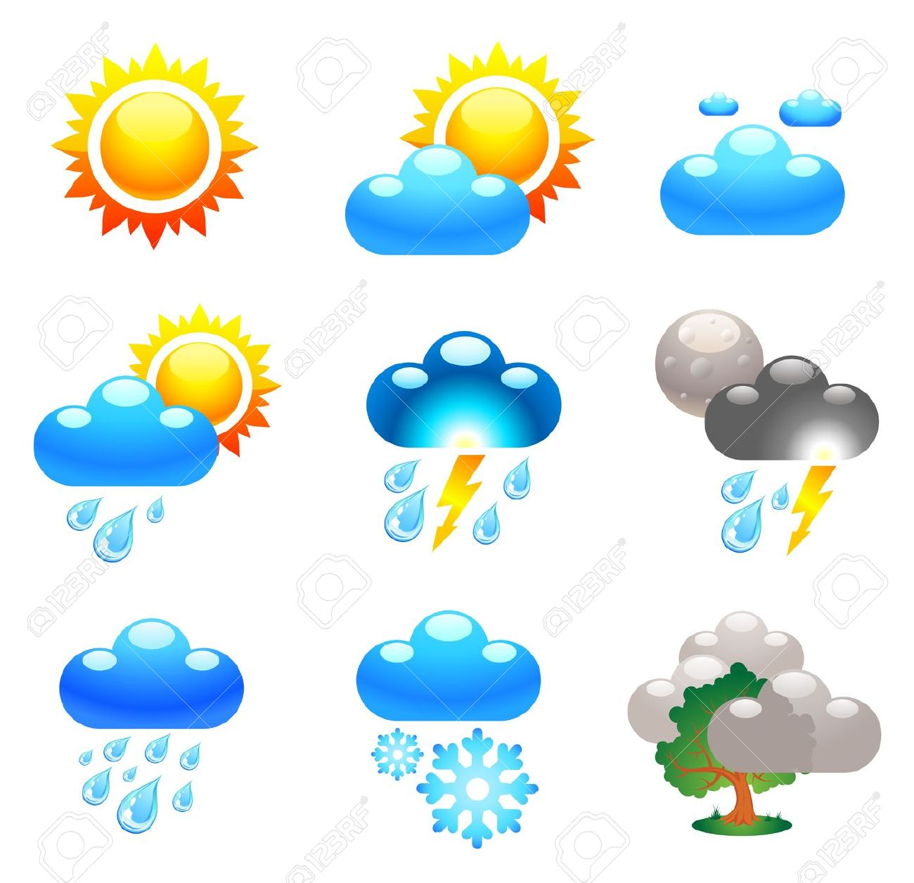 Weather prediction clipart vector free Collection of Forecast clipart   Free download best Forecast ... vector free