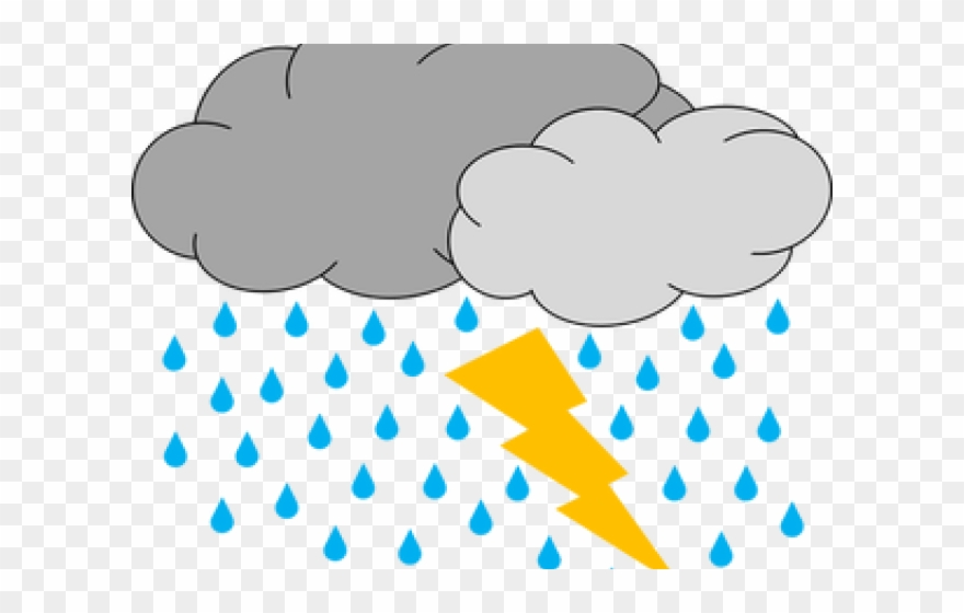 Weather storm clipart png free stock Thunder Clipart Bad Weather - Storm Cloud Clip Art - Png ... png free stock